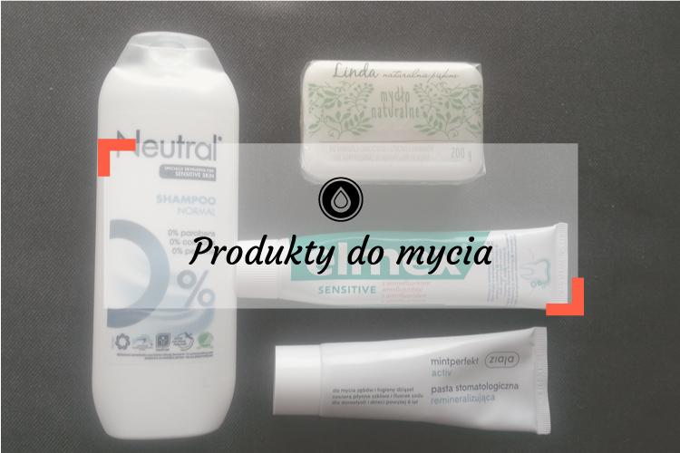 Mycie skóry atopowej oraz włosów - Szampon Neutral, mydło hipoalergiczne Cien i pasta do zębów Ziaja