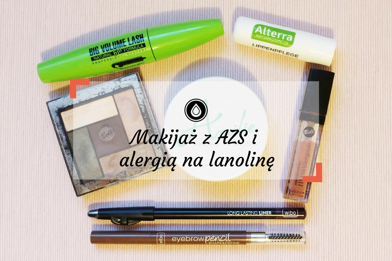 Kosmetyki do makijażu | Atopowe zapalenie skóry, alergia na lanolinę i kompozycję zapachową