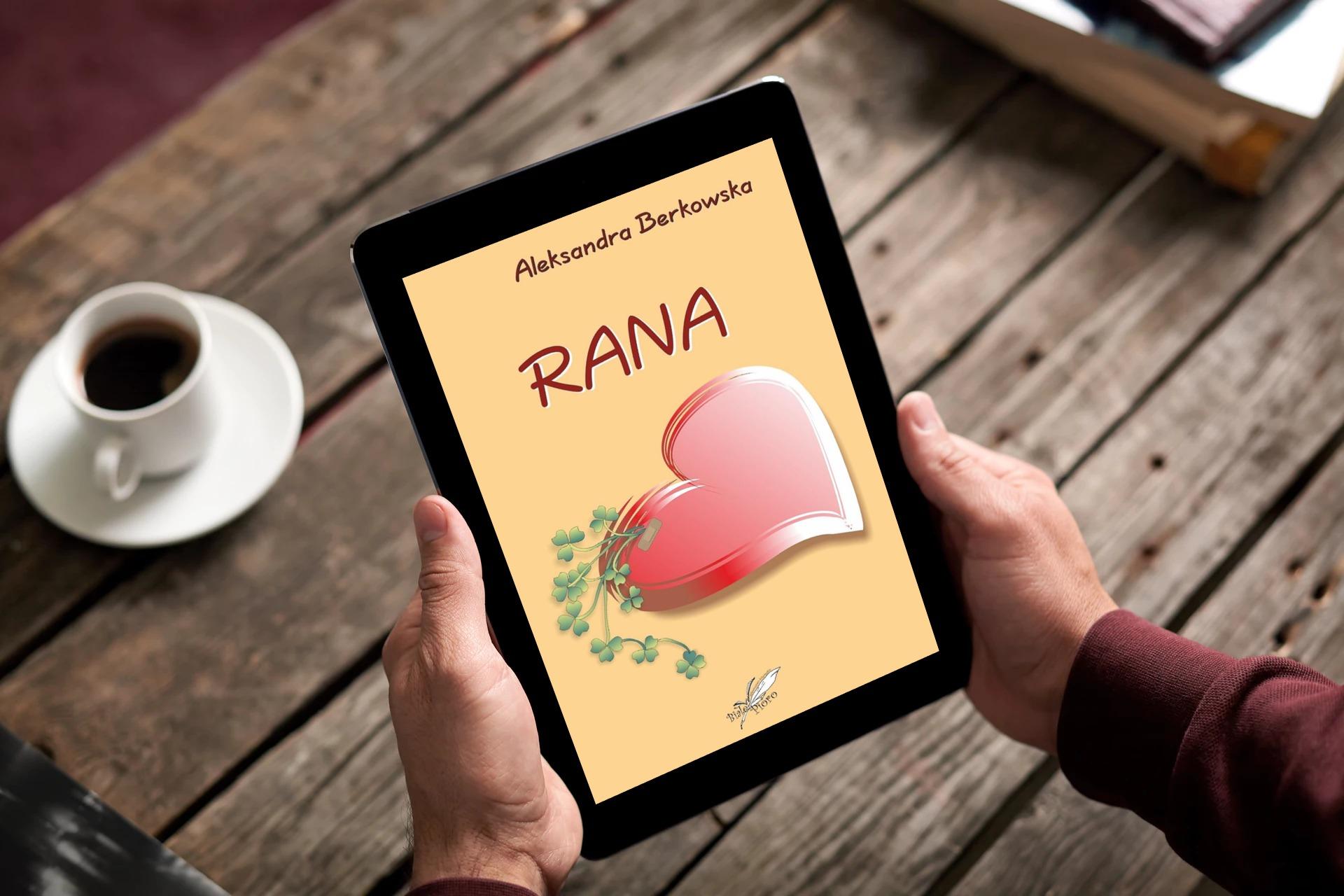 Rana – książka pomagająca młodzieży oswoić AZS + konkurs